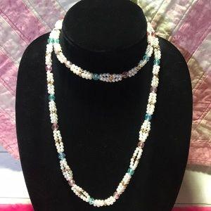 "Jewelry - 38"" Vintage Beaded Necklace"